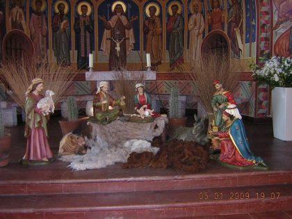Nacimiento 85cms, Parroquia Santa Teresa de Los Andes