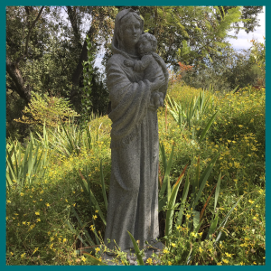 Virgen de la Calle, tipo piedra