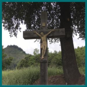 Cristo 85cm marfil