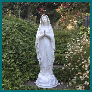 Virgen de Lourdes 80cm
