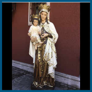 Virgen del Carmen 188cm