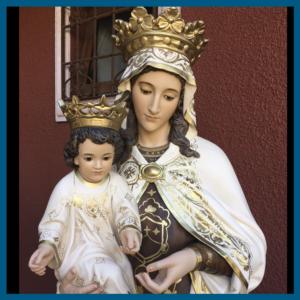Virgen del Carmen 188cm zoom