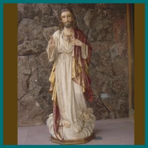 Sagrado Corazon de Jesús 150cm