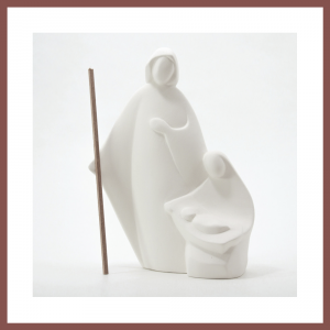 Sda.Famiglia Nives, fondo blanco 18cm