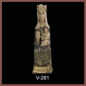 V-281 Virgen Románica pequeña 43cm